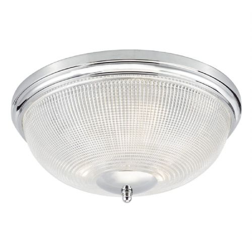 Arbor 3 Light Flush Polished Chrome IP44  ARB5250